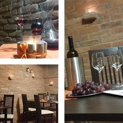 Vínna pivnica - v rodinnej reštaurácií Sentami v Žiline